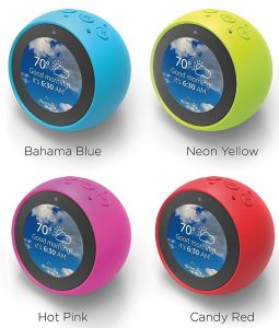 Amazon Echo Spot - colored skins