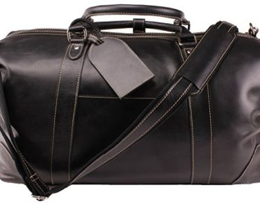 Best Grad Gifts 2018 - Leather Weekend Bag
