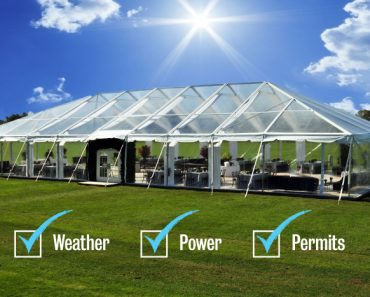 Questions to ask tent providers