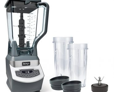 Ninja Professional Blender with Nutri Ninja Cups - compact blender processor