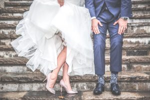 Avoid Wedding Cold Feet - bride groom shoes - Event Planning Expert Advice