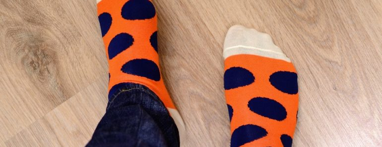 Avoid Wedding Cold Feet - fun socks - Event Planning Expert Advice